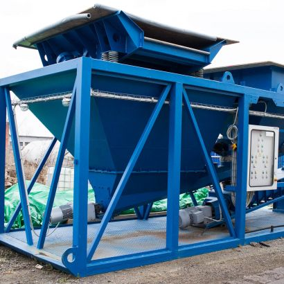 Containered Stabilization / Solidification Plant